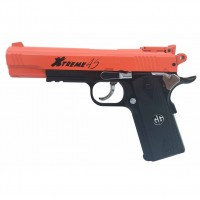 G&G CO2 Powered Xtreme 45 Full Metal Airsoft Semi-Automatic BB Gun Pistol with Blowback 400 FPS