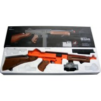 M306F Spring Powered Plastic Airsoft BB Gun Rifle 315 FPS