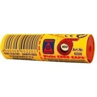Tube of 12 x 100-Shot Sohne Wicke Paper Cap Rolls - 1200 Caps.