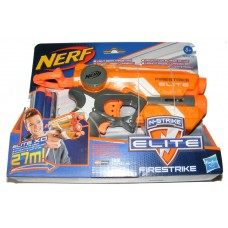 Nerf N-Strike Elite FireStrike Toy Foam Dart Gun with 3 Foam Darts